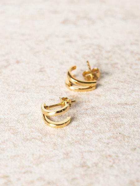 All The Luck In The World Bliss Earring Gold - Split Gold