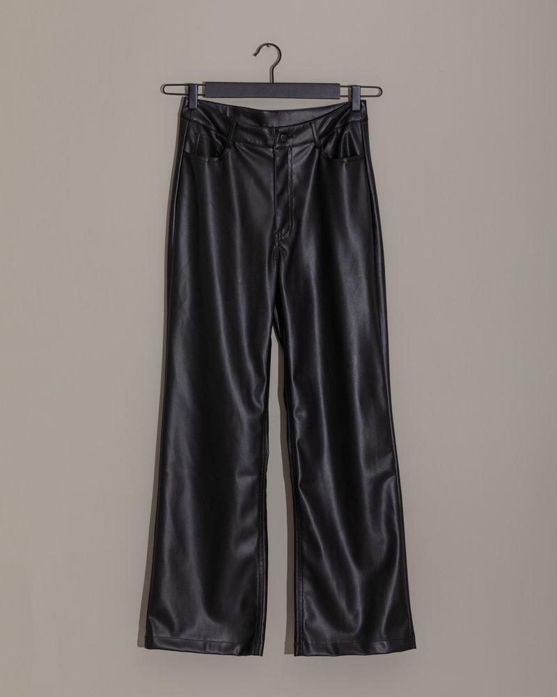 TILTIL Pu Lieke Leather Pants