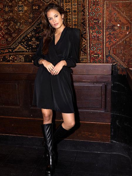 Things I Like Things I Love TILTIL Bono Belt Dress Black