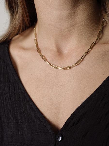 Baixa Flora Necklace Gold