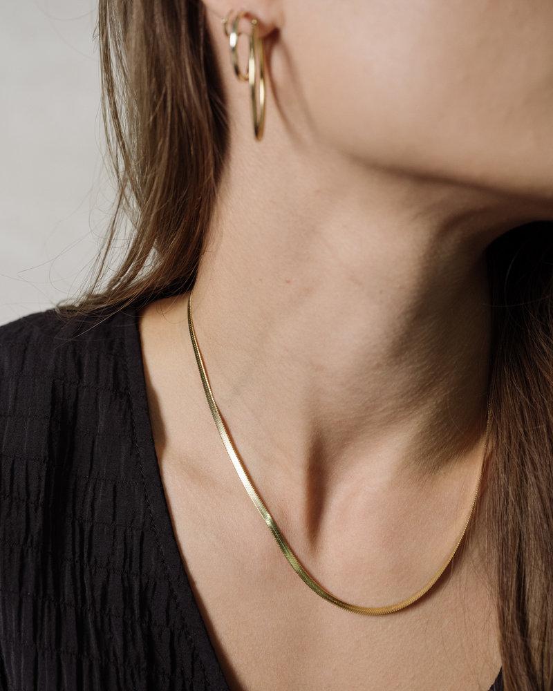 BAI Alexa Chain Necklace Gold