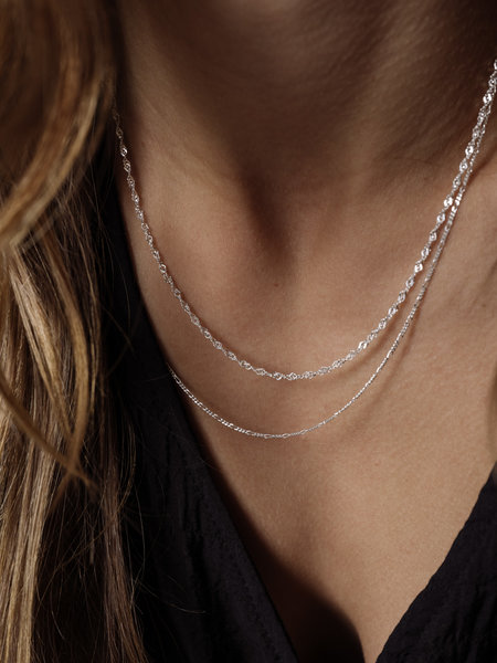Things I Like Things I Love TTS Twist Chain Necklace 18''