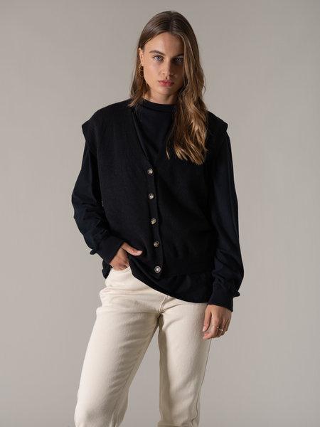 Things I Like Things I Love TILTIL Abu Vest Black
