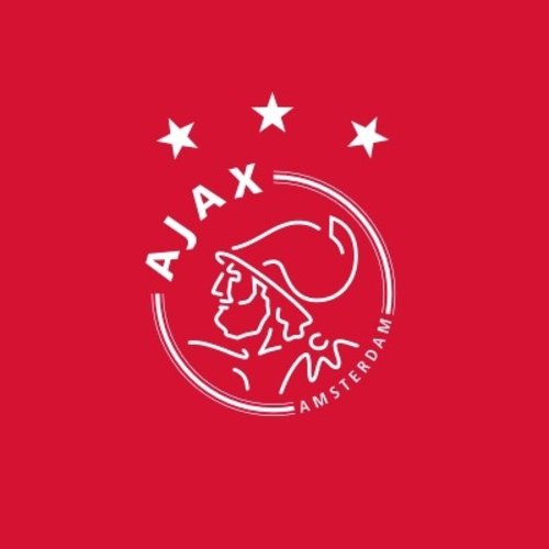 A large selection of football shirts from Ajax Amsterdam