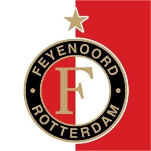 A large selection of football shirts from Feyenoord Rotterdam