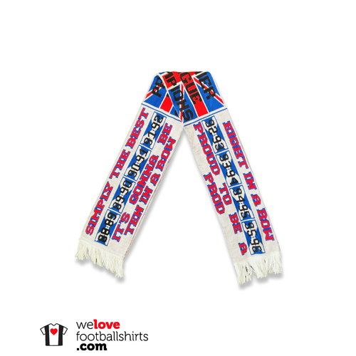Scarf Voetbalsjaal 'Glasgow Rangers'