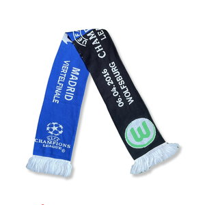Scarf Voetbalsjaal 'Wolfsburg - Madrid'