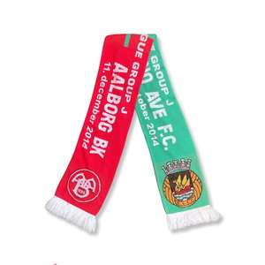 Scarf Voetbalsjaal 'Rio Ave - Aalborg'