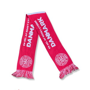 """Scarf Football Scarf """"Denmark - Poland"""""""