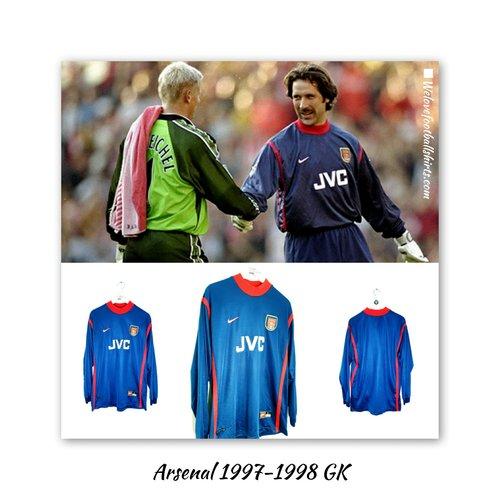 Nike Original Nike goalkeeper shirt Arsenal 1997/99