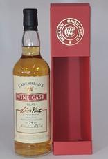 BRUICHLADDICH DISTILLERY  Bruichladdich Wine Cask 25yo