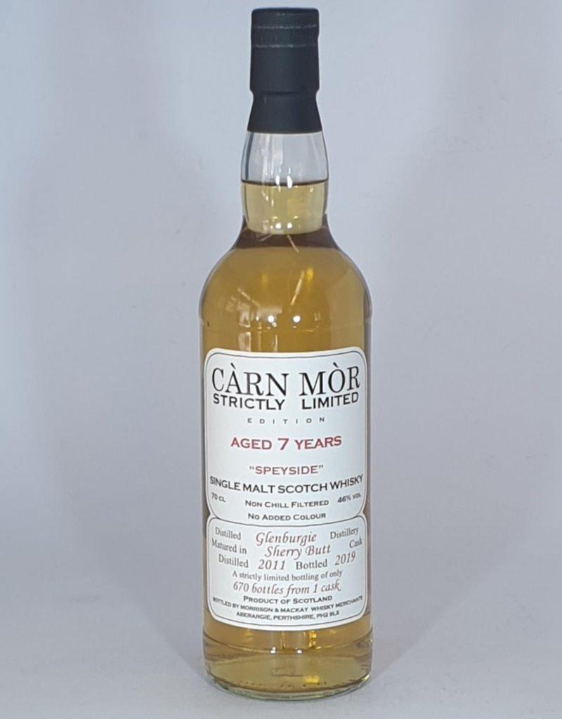 MORRISON & MACKAY LTD Carn Mor Glenburgie 7yo