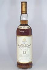 MACALLAN DISTILLERY  Macallan 90s Bottle 12yo