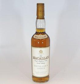 MACALLAN DISTILLERY  Macallan Distillers Choice