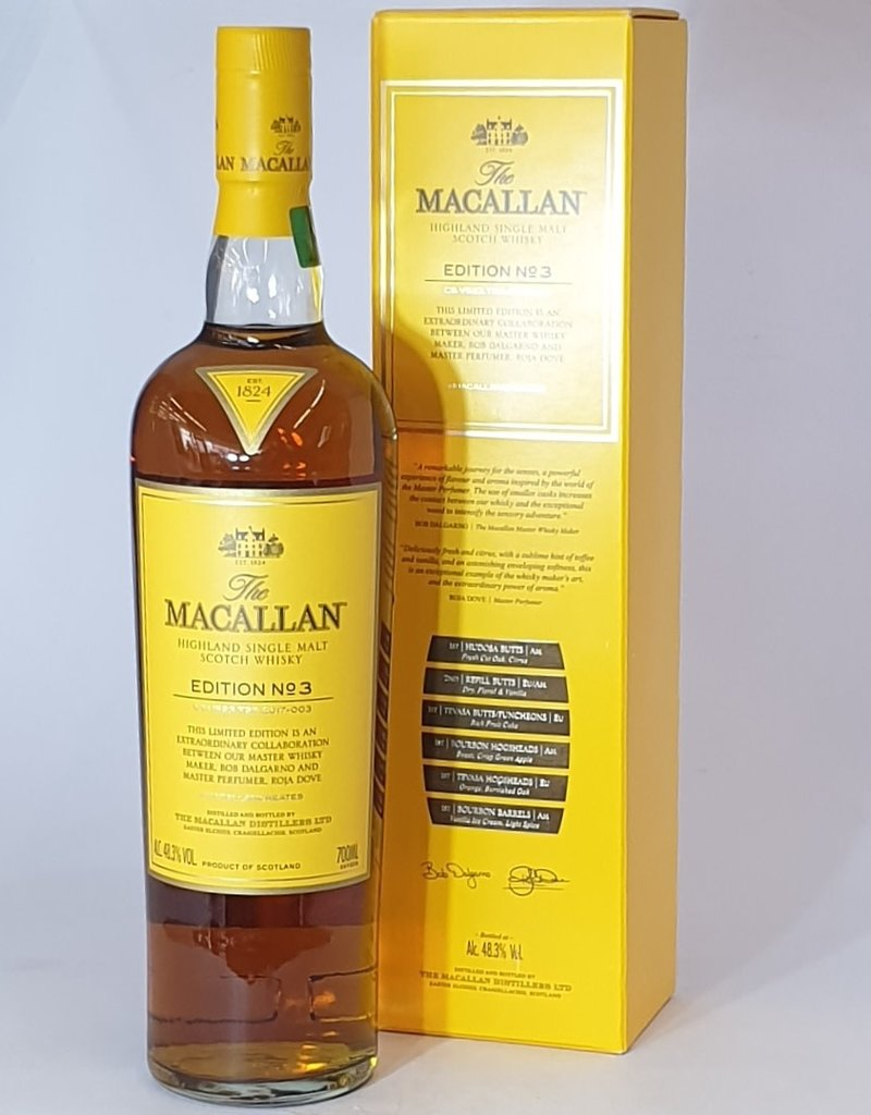 MACALLAN DISTILLERY  MACALLAN Edition 3