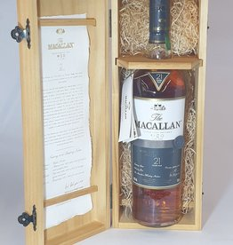 MACALLAN DISTILLERY  Macallan Fine Oak 21yo
