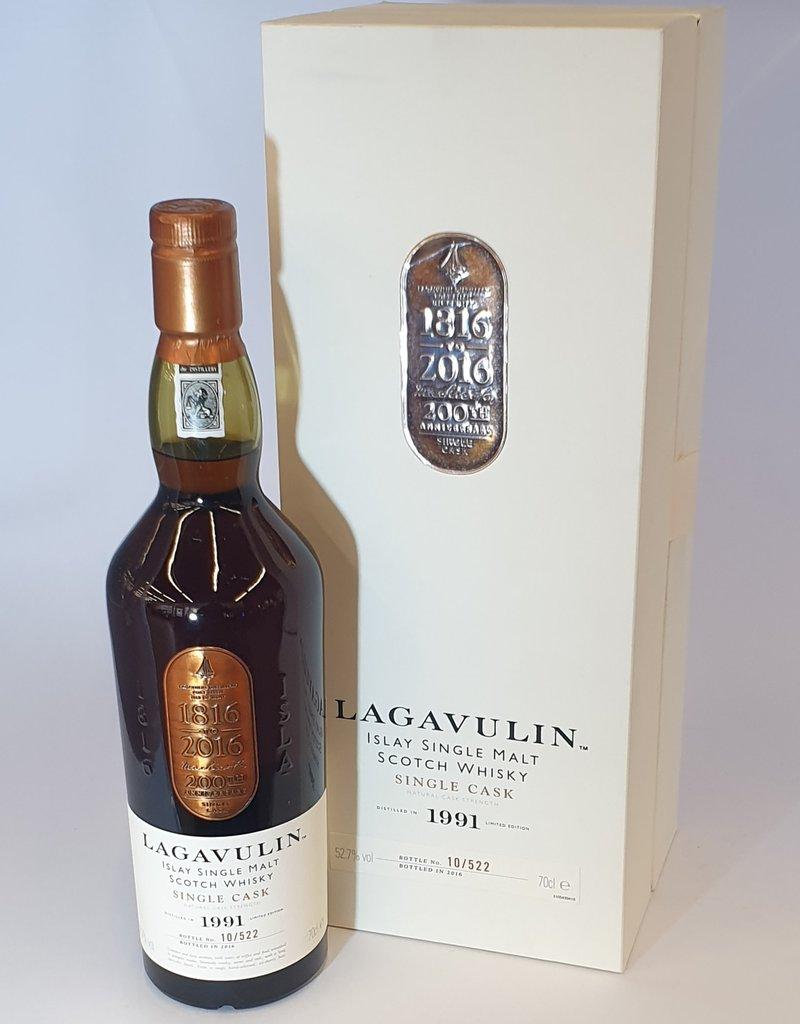 LAGAVULIN DISTILLERY  Lagavulin Single Cask 1991