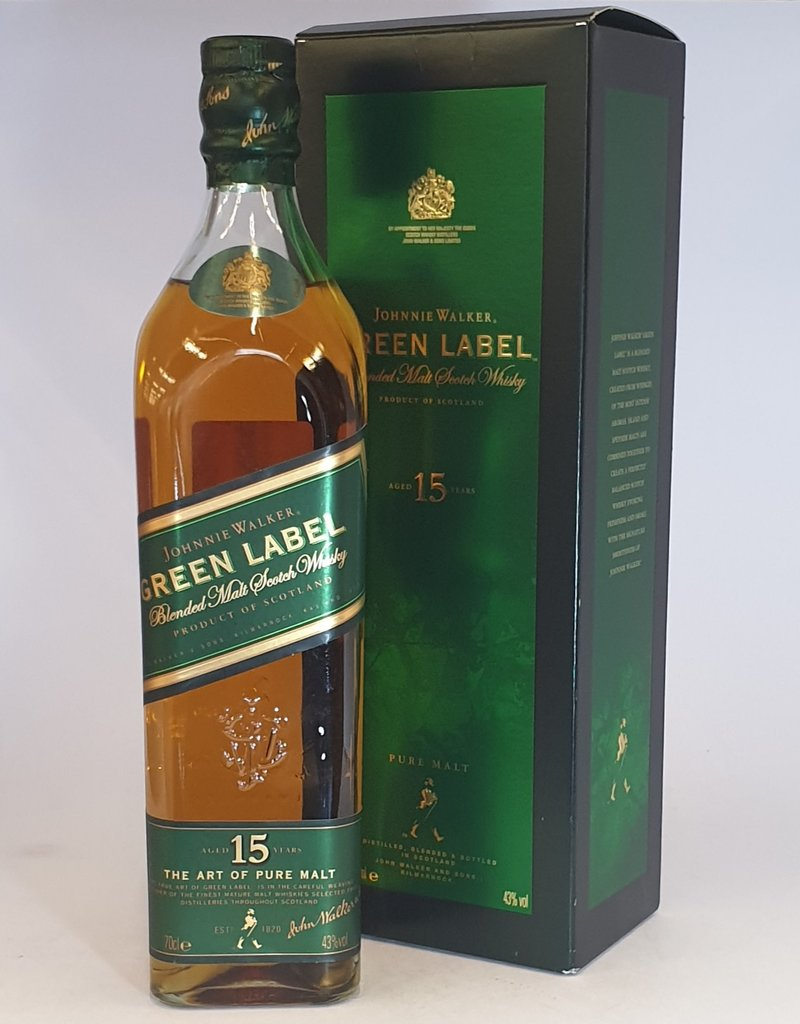JOHNNIE WALKER Green Label Old Bottling
