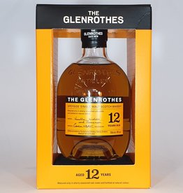 GLENROTHES DISTILLERY  Glenrothes 12yo