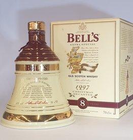 BELLS  Bells Christmas 1997 Decanter