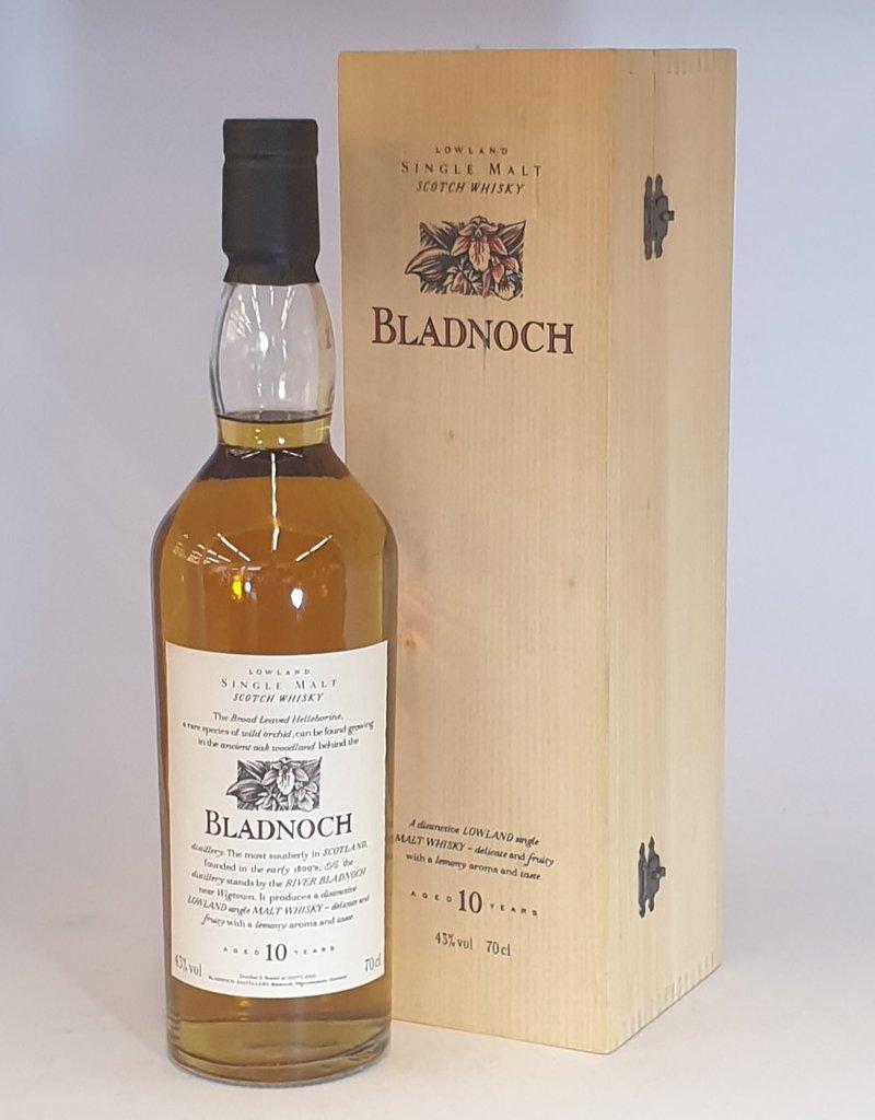 BLADNOCH DISTILLERY  Bladnoch F & F 10yo