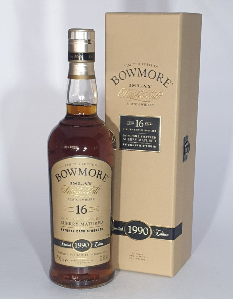 BOWMORE 1990 16 Year Old Sherry Matured Limited Edition