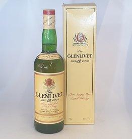The Glenlivet THE GLENLIVET 12yo 1980's bottling 40% abv
