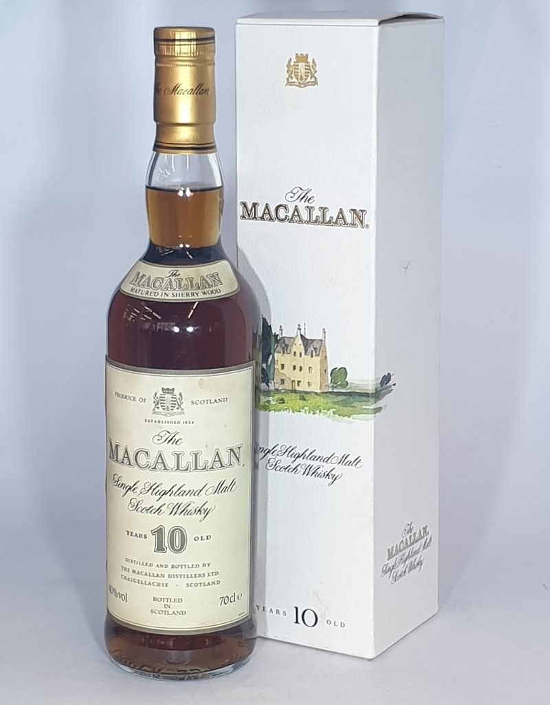 MACALLAN 10 yo 1980's bottling