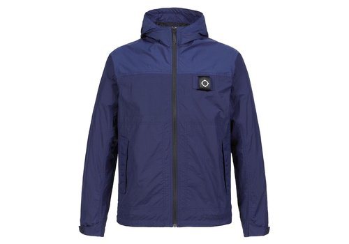 MA.STRUM MA.STRUM ultralight hooded windbreaker Dark indigo