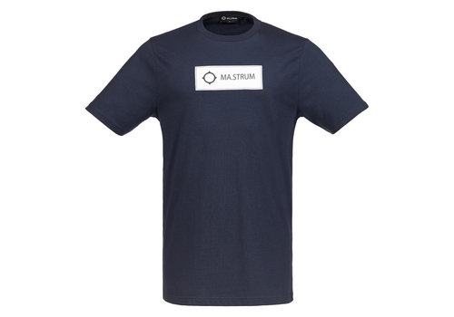 MA.STRUM MA.STRUM icon box logo tee Dark navy