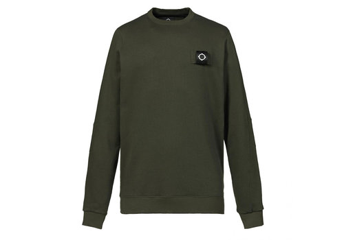 MA.STRUM MA.STRUM training crew Dark khaki green