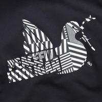 Peaceful Hooligan Dazzle Dove t-shirt Navy