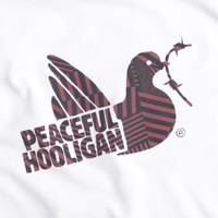 Peaceful Hooligan Dazzle Dove t-shirt White
