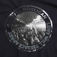 Peaceful Hooligan Love t-shirt Navy