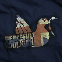 Peaceful Hooligan Union t-shirt Navy