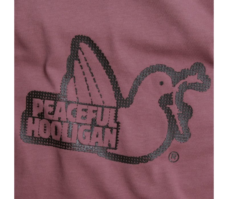 Peaceful Hooligan Dot t-shirt Berry