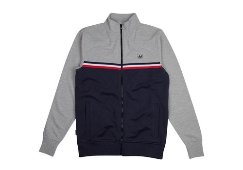 Peaceful Hooligan Peaceful Hooligan Joshua track top Marl Grey