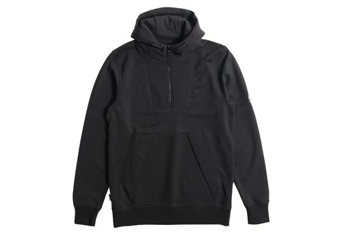 Peaceful Hooligan Peaceful Hooligan Landry soft shell track top Black