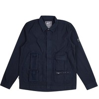 Peaceful Hooligan Jeferson shirt jacket Navy