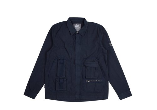 Peaceful Hooligan Peaceful Hooligan Jeferson shirt jacket Navy