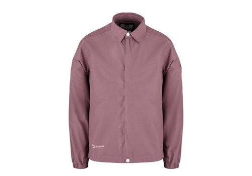 Weekend Offender Weekend Offender Naples overshirt jacket Plum