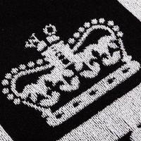 Weekend Offender Prison logo towel Black