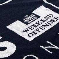 Weekend Offender Casuals towel Navy
