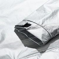 Weekend Offender Odyssey jacket Metallic silver