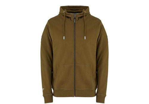 Weekend Offender Weekend Offender Carmine hooded sweatshirt Conifer