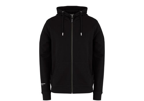 Weekend Offender Weekend Offender Carmine hooded sweatshirt Black