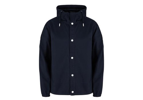 Weekend Offender Weekend Offender Immacolata hooded overshirt jacket Navy