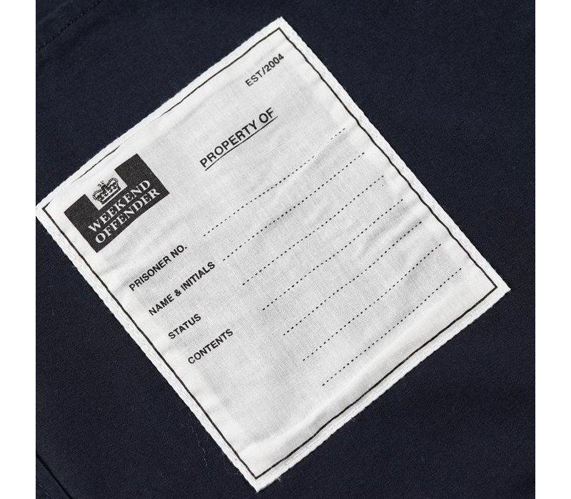 Weekend Offender Immacolata hooded overshirt jacket Navy