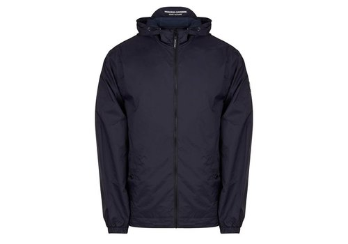Weekend Offender Weekend Offender Fabio hooded jacket Navy