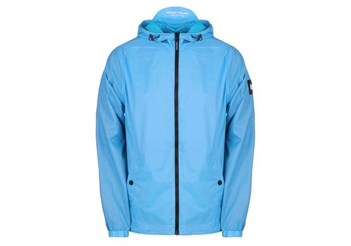 Weekend Offender Weekend Offender Fabio hooded jacket Sky